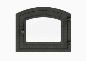Porta Para Forno Com Vidro – Modelo Colonial